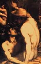 Domenico Cresti (llamado Passignano) 1560-1638 - Bañistas en San Niccolo - colección privada.